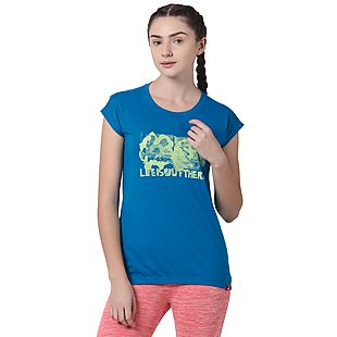 Wildcraft Women Life Statement Print Crew Tee
