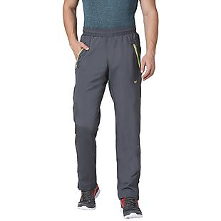 Wildcraft Men Woven Track Pants Pro - Dark Grey