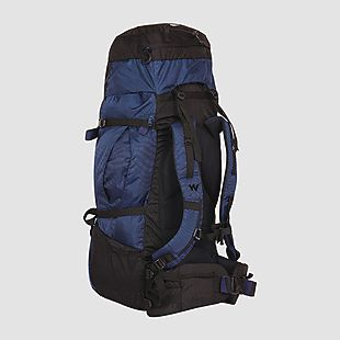 Wildcraft Rucksack For Trekking Alpinist Plus 55L - Blue
