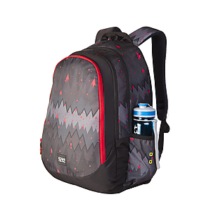 Wildcraft Wiki 6 Ombre Backpack - Black