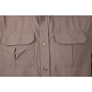Wildcraft Men Hypacool Full Sleeve Outdoor Shirt - Brown