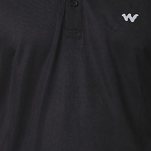 Wildcraft Men Hypacool Active Polo Tee - Black